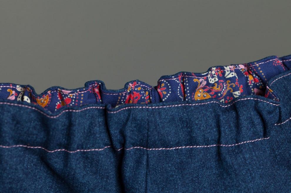 Röverbüx dunkelblau